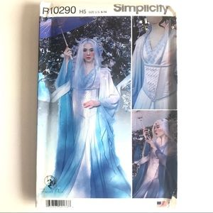 Simplicity Sewing Pattern Cosplay Fairy Dress 6-22